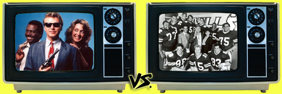 '80s Sitcom March Madness - Sledge Hammer! vs. 1st & Ten