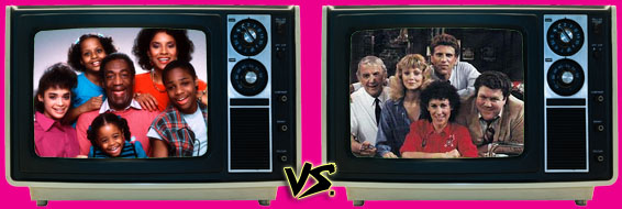 '80s Sitcom March Madness - (1) The Cosby Show vs. (1) Cheers