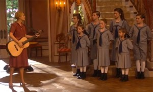 Carrie Underwood in The Sound Of Music...well, it's a start.