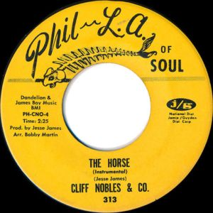 """Cliff Nobles & Co - """"The Horse"""""""
