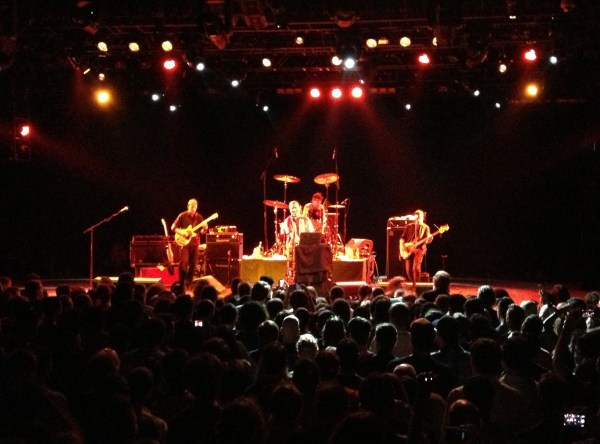 Tomahawk live at Best Buy Theater, 6/2/2012