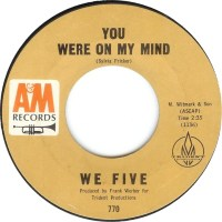 """We Five, """"You Were on My Mind"""""""