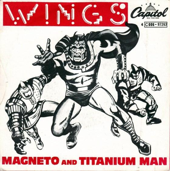 """""""Magneto and Titanium Man"""" (Wings)"""