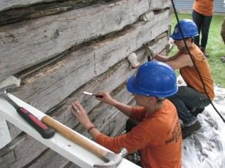 Cabin Repair Day 2 037