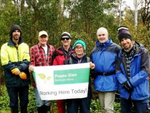 Popes Glen Bushcare Group w