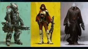 Destiny Character Art