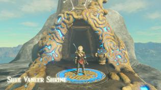 BOTW Star Fragment Farming - Shee Vaneer Shrine