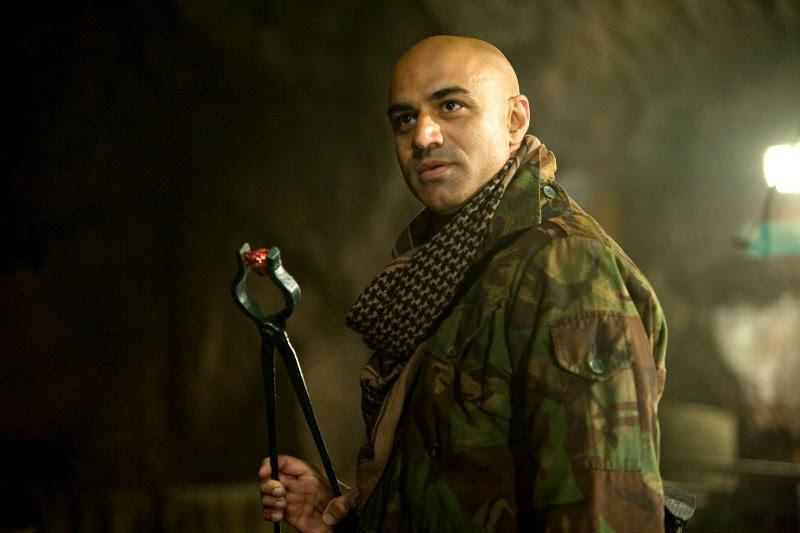 Faran Tahir as Raza, leader of the villainous Twelve Rings organization in 2008's Iron Man - Faran Tahir Interview