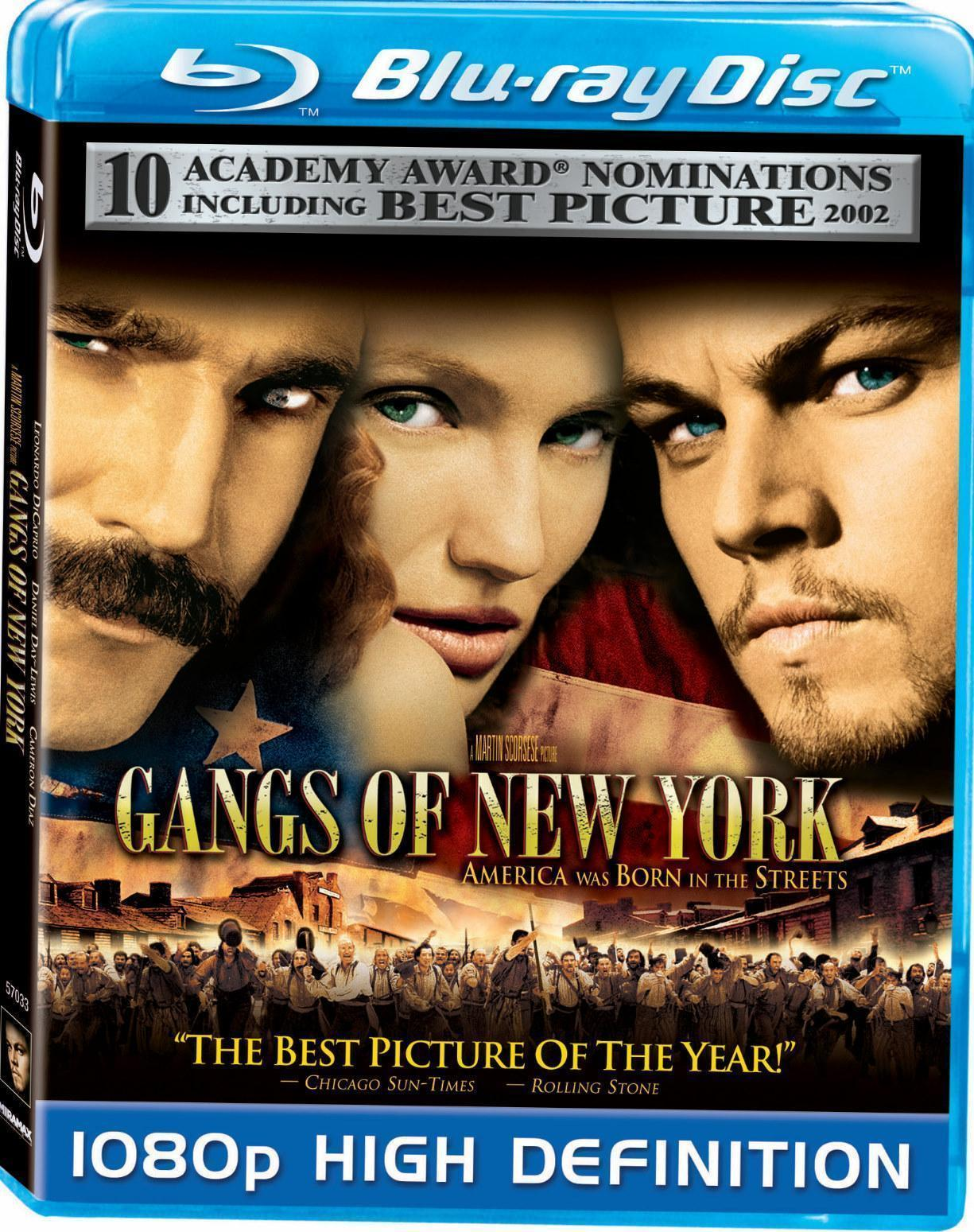 Gangs Of New York Blu Ray Review