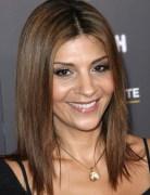 Brown, Medium Hairstyles for Straight Hair, Callie Thorne Haircut