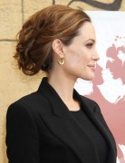 Angelina Jolie Hairstyles: Chic Updos for Nights Out