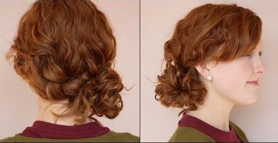Casual Updos Tutorial Braided Side Bun Hairstyles