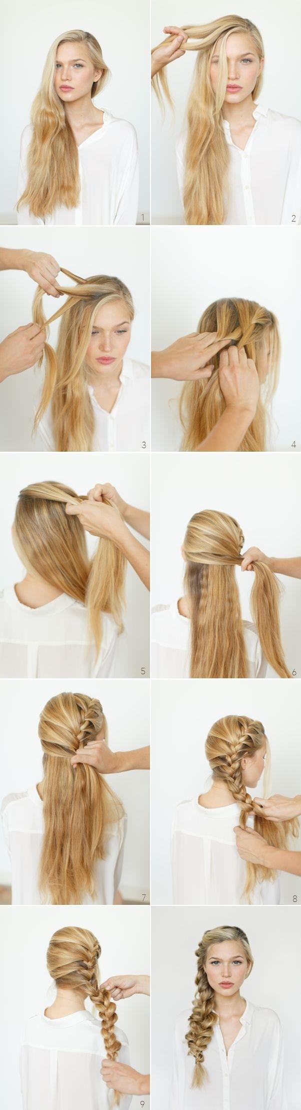 8 cute braided hairstyles for girls: long hair ideas