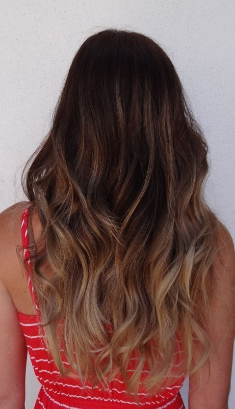 Long Wavy Hair: Ombre Hairstyles for Long Hair 2014 - 2015