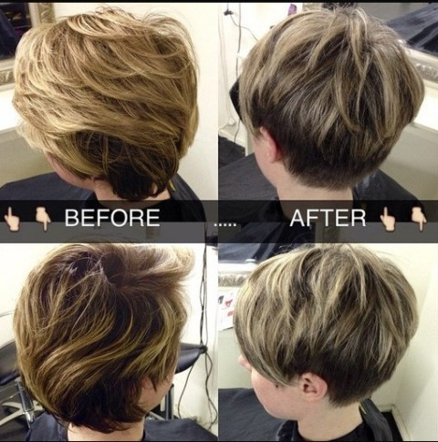 Easy Layered Pixie Haircut: Women Short Hair Trends 2015
