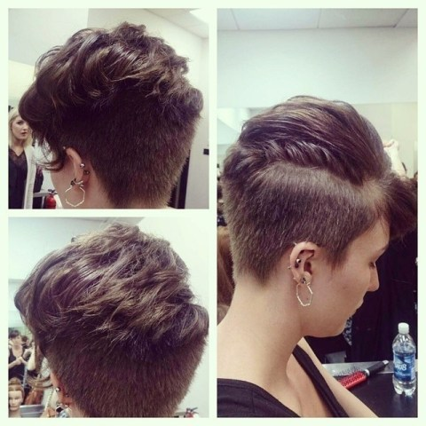 Girls with Short Hair: Short Haircuts 2015