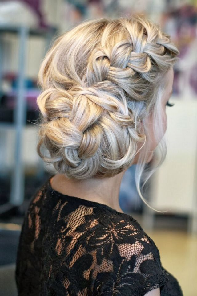 21 all-new french braid updo hairstyles - popular haircuts