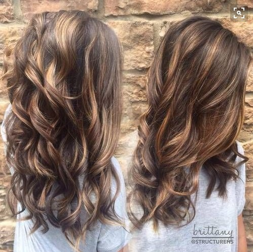 10 super fresh hairstyles for brown hair with caramel highlights popular haircuts