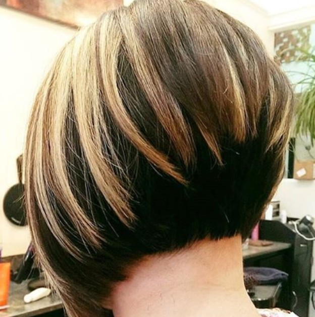 Inverted Bob Hairstyle Back View For Encourage