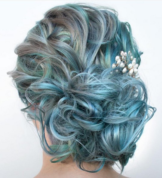 27 Super Trendy Updo Ideas For Medium Length Hair Crazyforus
