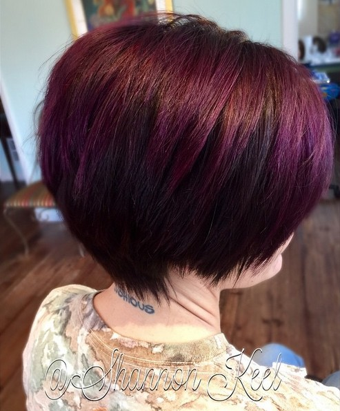 20 Sexy Stacked Haircuts For Short Hair You Can Easily