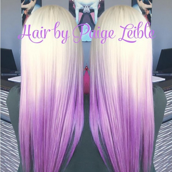 20 Purple Ombre Hair Color Ideas PoPular Haircuts