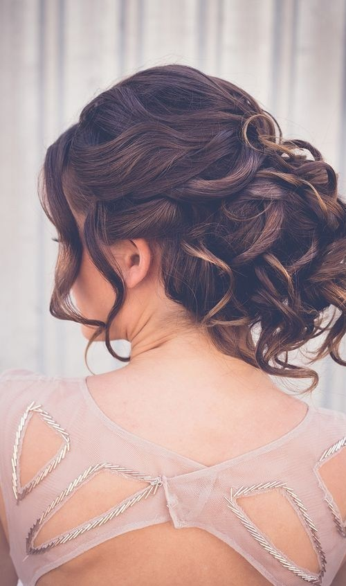 Gorgeous Prom Hairstyle Ideas - Updos with Curls