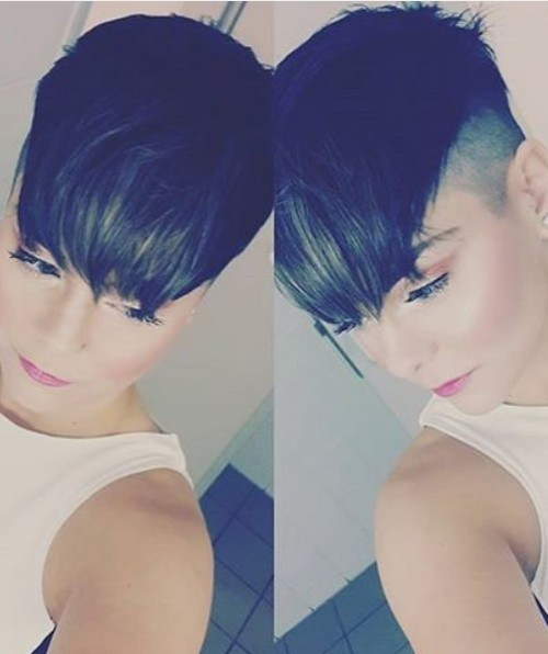 Pixie Hairstyle with Bangs - Bowl Cut Styles