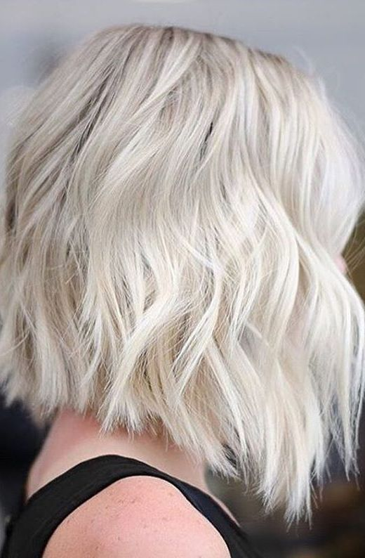10 Lob Haircut Ideas Edgy Cuts Amp Hot New Colors Crazyforus