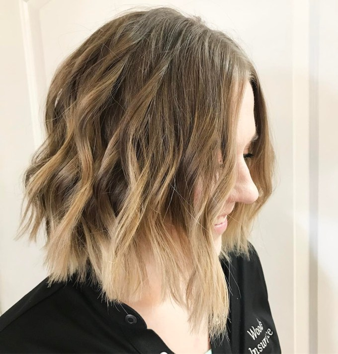 10 beautiful medium bob haircuts &edgy looks: shoulder