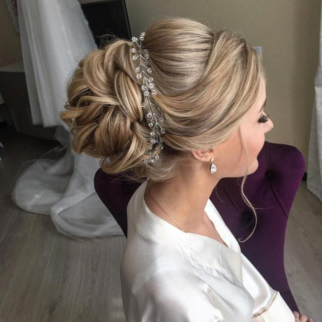 10 lavish wedding hairstyles for long hair - wedding