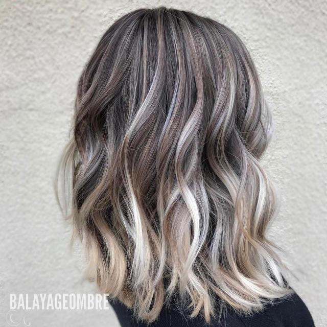 10 best medium layered hairstyles 2019 - brown & ash-blonde