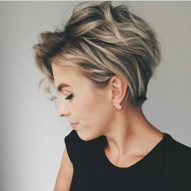 10 messy hairstyles for short hair - quick chic! women short