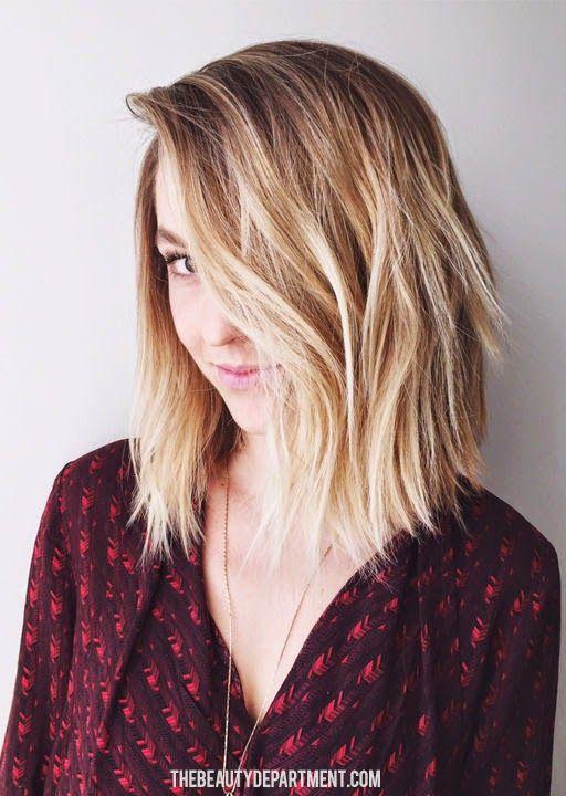 10 Stylish Amp Sweet Lob Haircut Ideas Shoulder Length