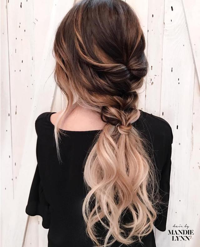 10 trendiest ponytail hairstyles for long hair 2019 - easy