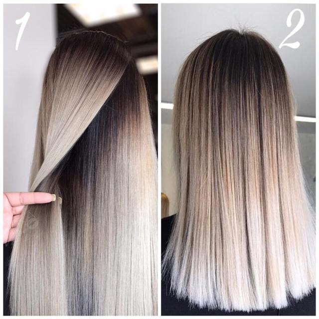 10 gorgeous ombre, balayage hairstyles for long hair