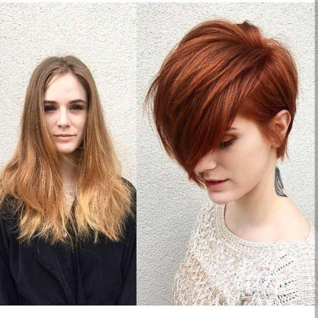 10 cute short haircuts, make-overs: long hair to short hair
