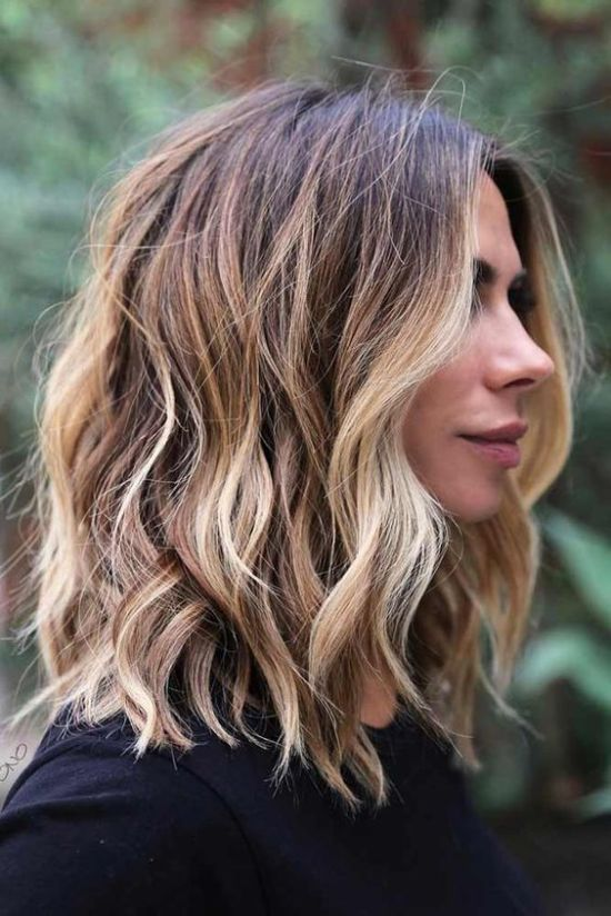 Beautiful Everyday Shoulder Length Haircuts to Light You Up - Medium Hairstyle for Women