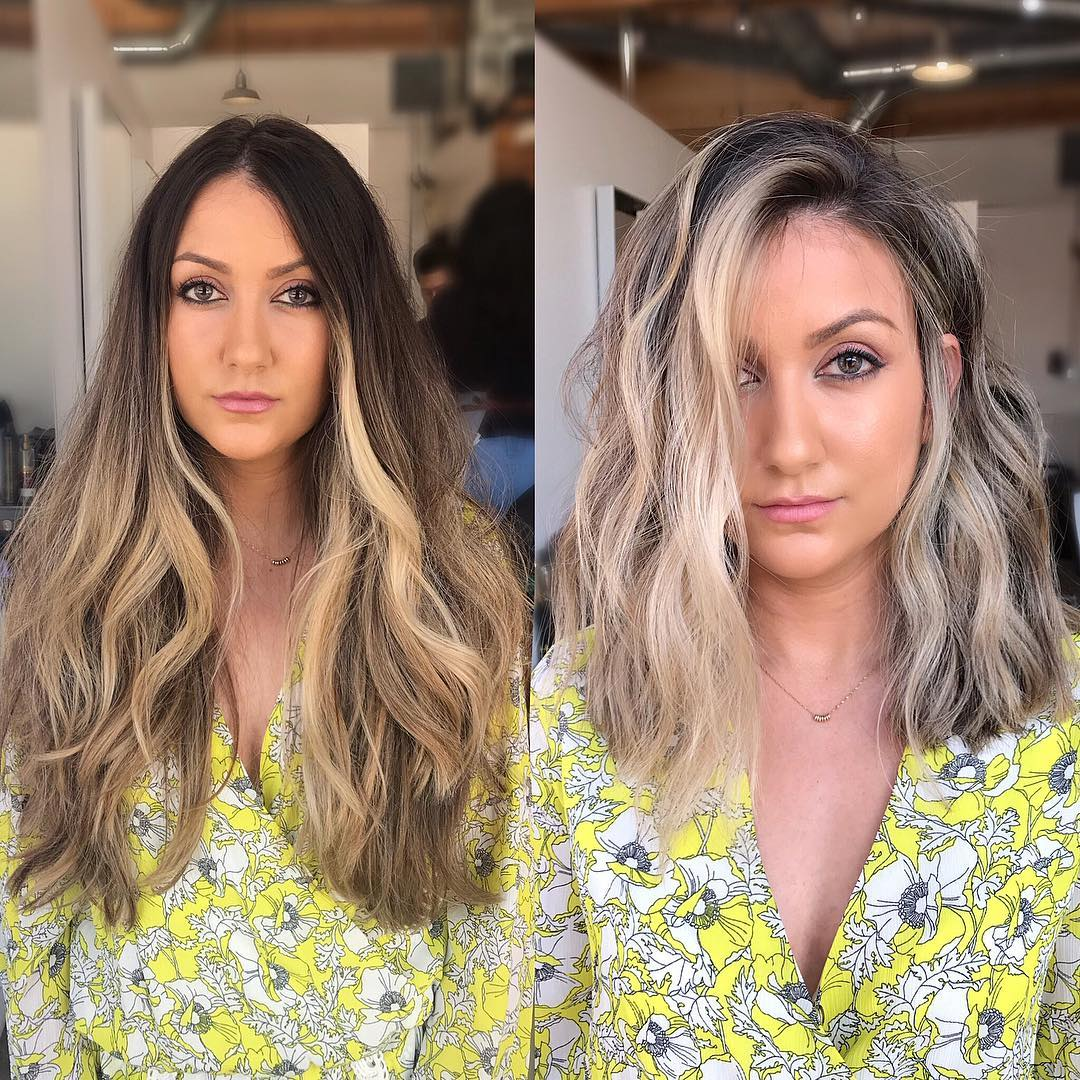 Stylish Shoulder Length Hairstyle and Color - Women Medium ...