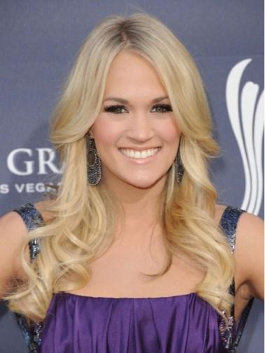 Blonde Long Wavy Hairstyles 2012