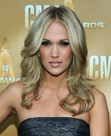 Celebrity Long Wavy Hairstyles 2012