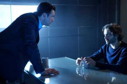 """GUILT - """"A Simple Plan"""" - Crown prosecutor Gwendolyn puts the pressure on Luc to give up Grace, while Grace and Roz come up with a plan to plant evidence on a likely suspect, on an all-new episode of """"Guilt,"""" airing MONDAY, JULY 25 (9:00 - 10:00 p.m. EDT), on Freeform. (Freeform/Angus Young) CRISTIAN SOLIMENO, ZACHARY FALL"""