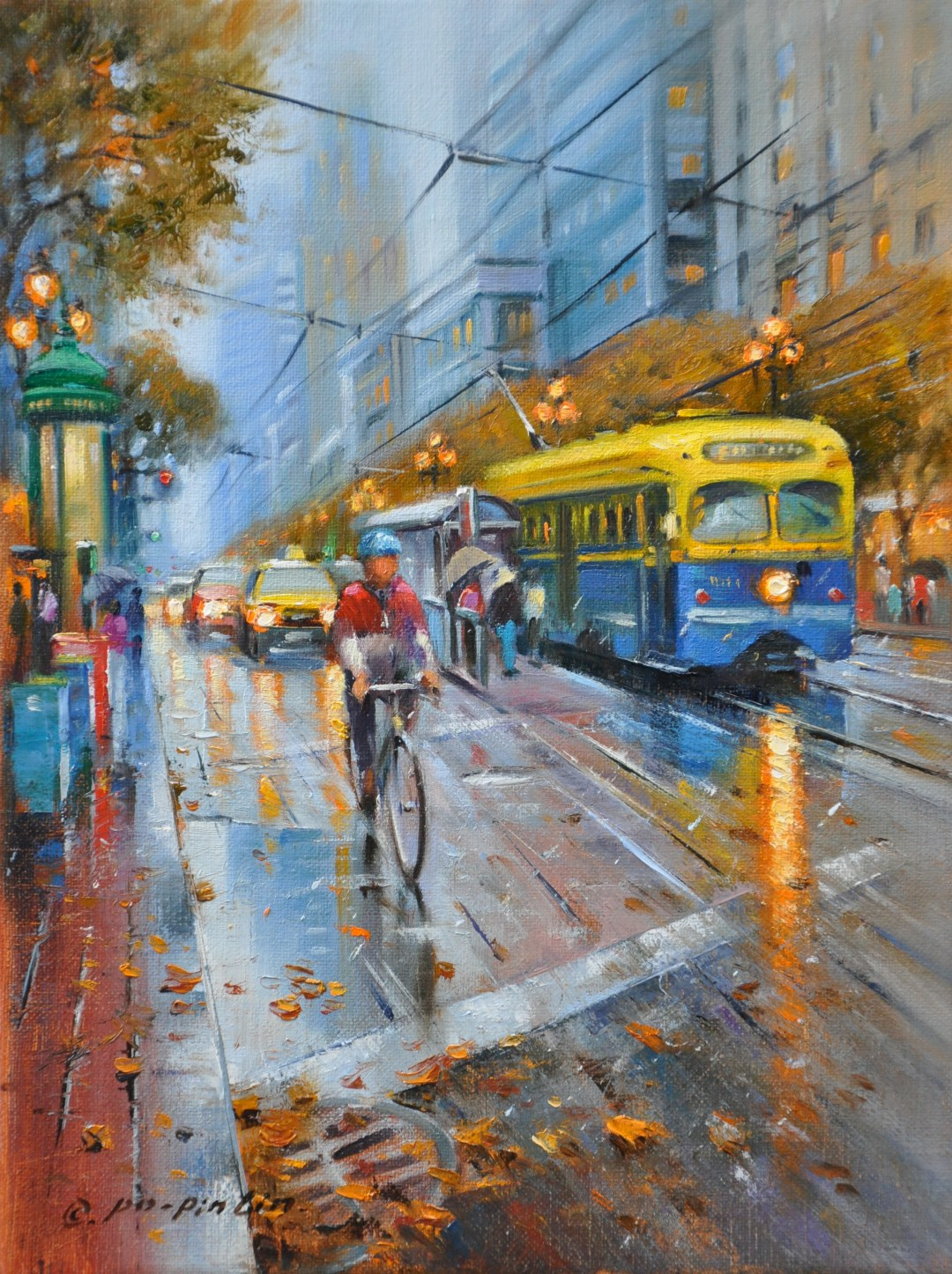 Morning Shower SF, 12x9 (SOLD)