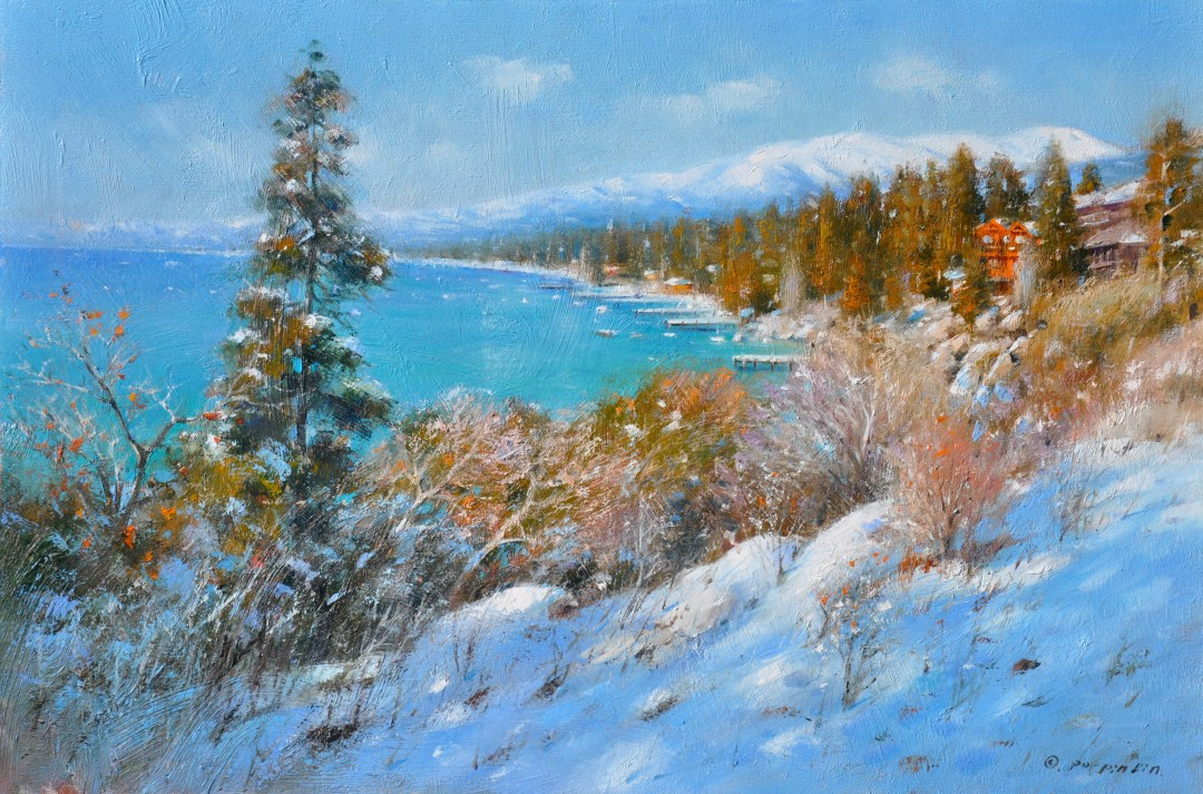 Morning Tahoe, 20x30