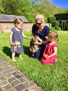 Tess the Cat at Greenwood Grange