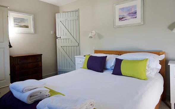Greenwood Grange Cottages upstairs bedroom