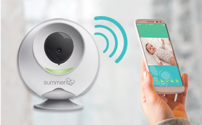 Summer Infant wireless travel monitor