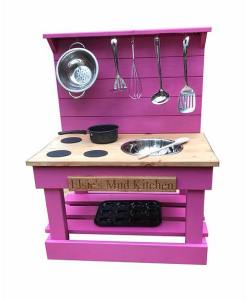 one bowl mud kitchen