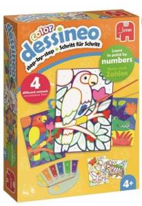 Dessineo paint by numbers toy