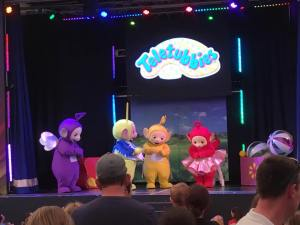 Butlins Just for Tots weekend Teletubbies show